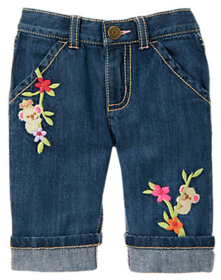 Denim Koala Cuff Jean by Gymboree