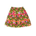 Pickstitched Ribbon Flower Skirt