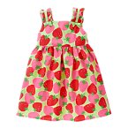 Strawberry Bow Dress