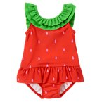 Strawberry One-Piece Swimsuit