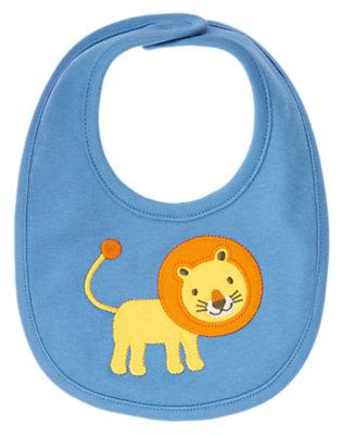 Baby Blue Lion Bib by Gymboree