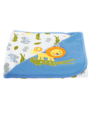 Baby Blue Lion Blanket by Gymboree