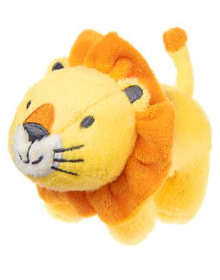 Baby Yellow Lion Plush Rattle by Gymboree