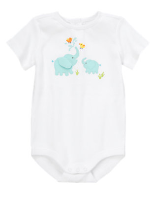 Baby White Momma and Baby Bodysuit by Gymboree