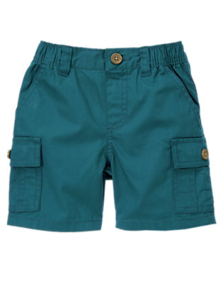 Helicopter Blue Cargo Short by Gymboree