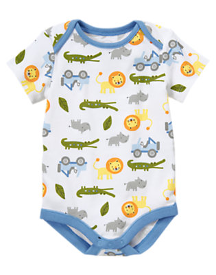 Baby Lion Lion Animal Bodysuit by Gymboree