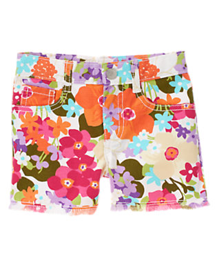 Girls Tropical Flower Tropical Flower Short by Gymboree