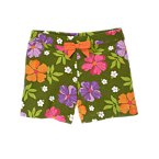 Bow Tropical Flower Short