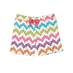 Bow Flower Stripe Short