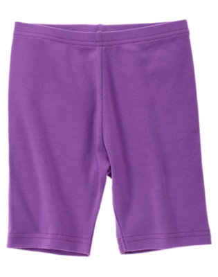 Girls Purple Orchid Bike Short by Gymboree