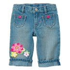 Gem Water Lily Clam Digger Jean