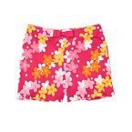 Bow Flower Short