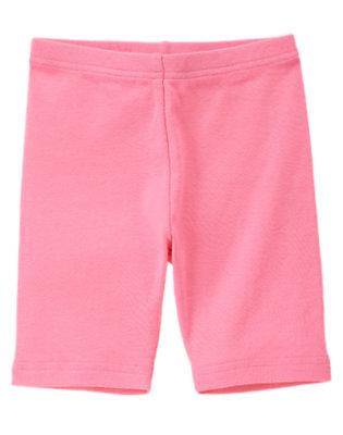 Girls Lily Pink Bike Short by Gymboree