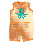 Octopus Stripe Terry One-Piece
