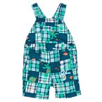 Octopus Plaid Patchwork Shortall