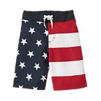 Stars & Stripes Swim Trunk