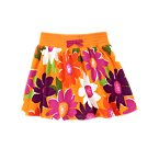 Safari Flower Skort