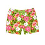 Bow Hibiscus Short