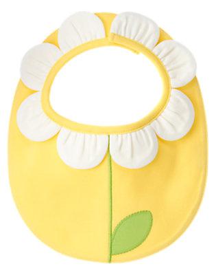 Baby Daisy Yellow Daisy Bib by Gymboree