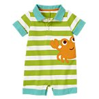 Crab Stripe Polo One-Piece