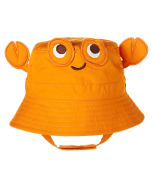 Crab Orange Crab Hat by Gymboree