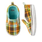 Plaid Sneaker Crib Shoe