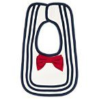 Bow Stripe Bib