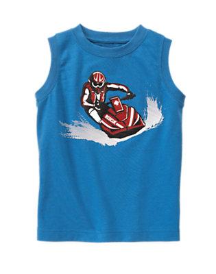 Boys Ocean Blue Jet Ski Rescue Tank by Gymboree