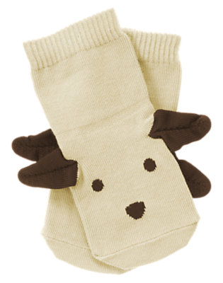 Fawn Dog Ear Sock by Gymboree