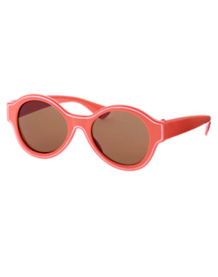 Bright Coral Tipped Sunglasses by Gymboree
