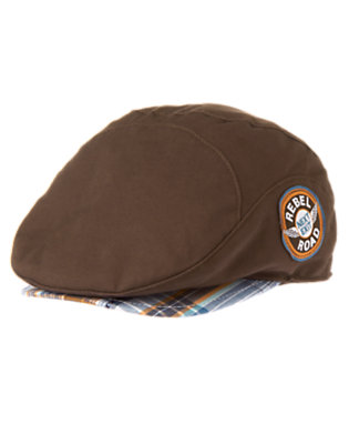 Desert Brown Rebel Road Canvas Cap by Gymboree