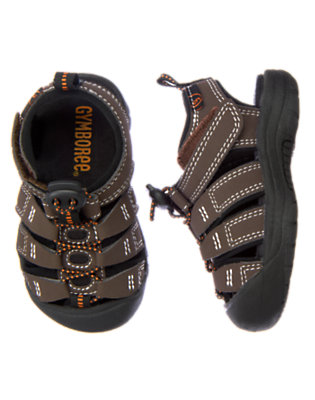 Desert Brown Trail Sandal by Gymboree