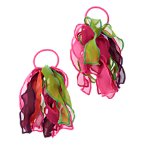 Organza Pony Holder Two-Pack
