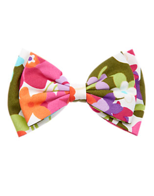 Girls Tropical Flower Flower Bow Hair Clip by Gymboree