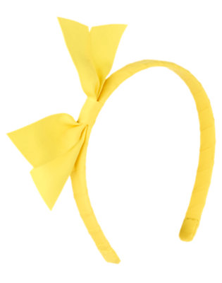 Girls Summer Yellow Ribbon Headband by Gymboree