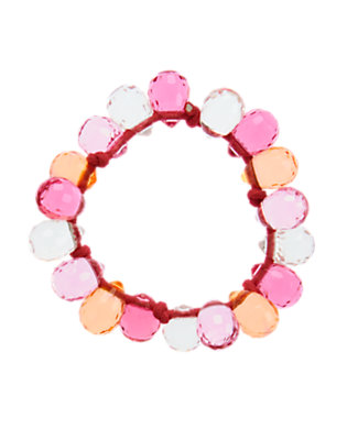 Girls Tropical Pink Faceted Bead Bracelet by Gymboree