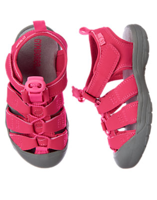 Tropical Pink Trail Sandal by Gymboree