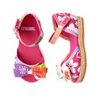 Tropical Mixed Print Espadrille Sandal