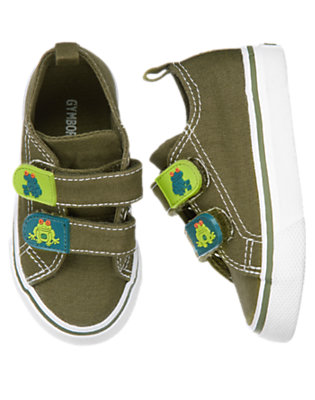 Iguana Green Tree Frog Sneaker by Gymboree