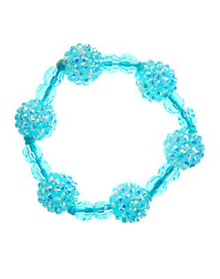 Iridescent Dolphin Blue Iridescent Bauble Bracelet by Gymboree