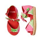 Strawberry Print Espadrille