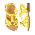 Strawberry Button Sandal