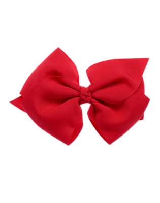 Toddler Girls Red Bow Hair Clip by Gymboree