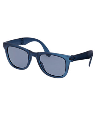 Deep Navy Foldable Sunglasses by Gymboree