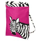 Glitter Zebra Backpack