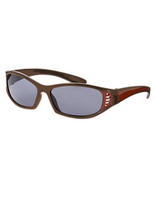 Toddler Boys Chocolate Brown Vented Sunglasses by Gymboree