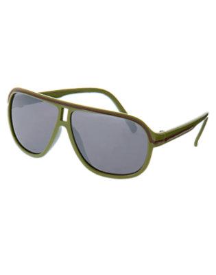Gator Green Aviator Sunglasses by Gymboree