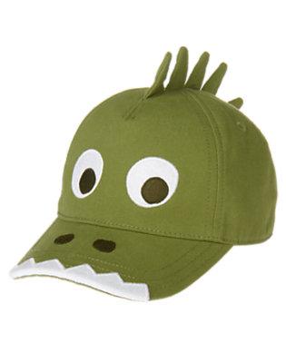 Gator Green Crocodile Baseball Cap by Gymboree