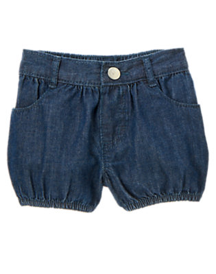 Dark Chambray Chambray Short by Gymboree