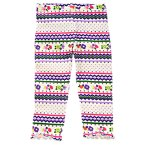 Fair Isle Flower Legging